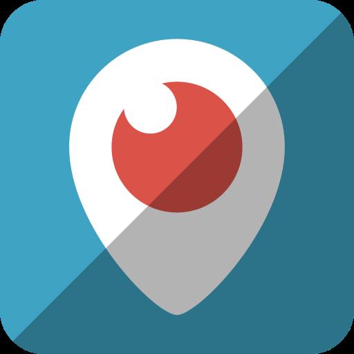 Watch, Periscope, Social Network, Tv, Logo, Video, Eye Icon