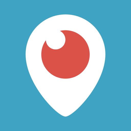 Watch, Tv, Logo, Eye, Periscope, Video, Social Network Icon