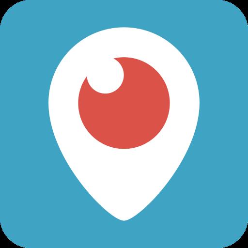 Periscope, Watch, Logo, Tv, Social Network, Eye, Video Icon