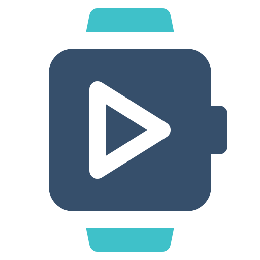 Play, Smart, Video, Watch Icon Free Of Smart Watch