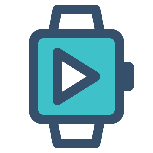 Smart, Watch, Play, Video Icon Free Of Smart Watch