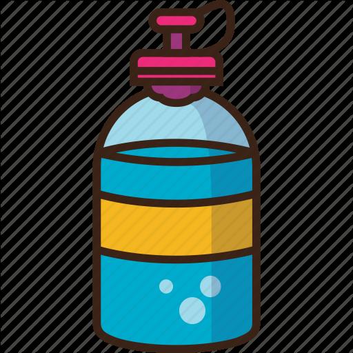 Bottle, Camping, Drink, Trekking, Water Icon