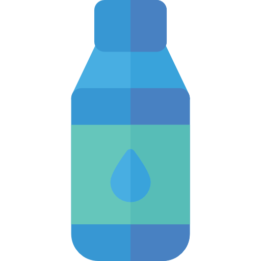 Food, Water, Bottle Icon