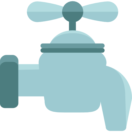 Tap, Water, Faucet, Droplet, Water Tap, Furniture And Household Icon