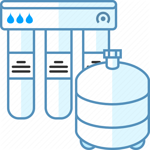 Filter, Osmosis, Water Icon