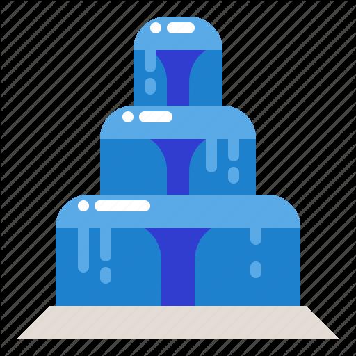 Fountain, Garden, Park, Splash, Water Icon