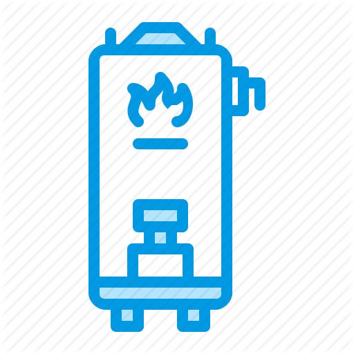 Boiler, Gas, Heater, Water Icon