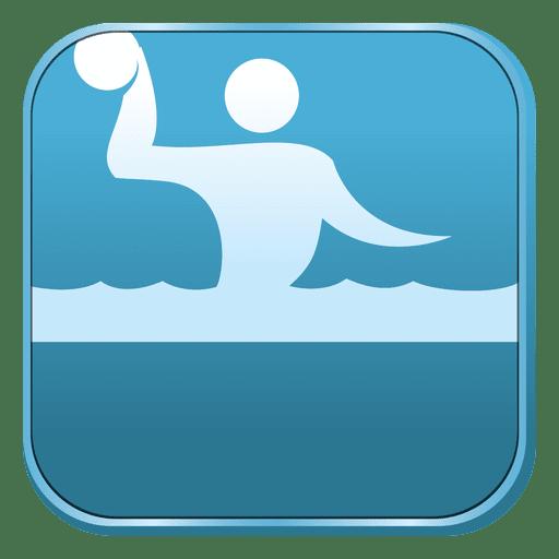 Waterpolo Square Icon