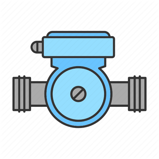 Bathroom, Pipe, Pipeline, Pump, Supply, Water, Waterpipe Icon