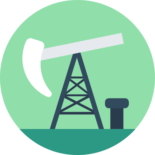 Pump Jack Oil Png Icon