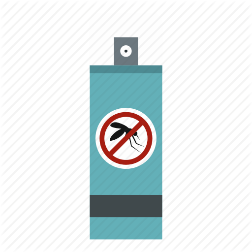 Cute, Insect, Mosquito, Repellent, Spray, Stop, Travel Icon