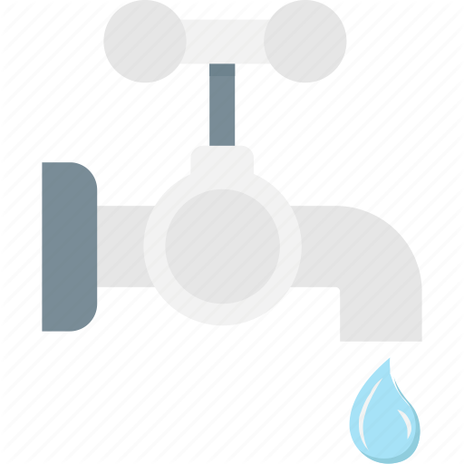 Faucet, Tap, Water, Water Supply, Water Tap Icon