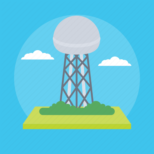 Water Silo, Water Storage, Water Supply, Water Tank, Water Tower Icon