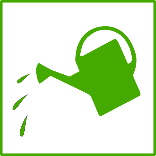 Eco Green Watering Icon Clipart