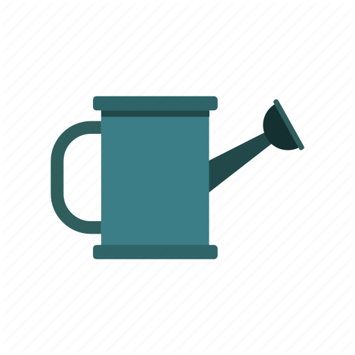 Garden, Metal, Water, Watering Can, Work Icon