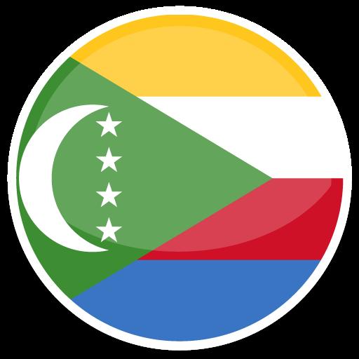 Comoros Icons, Free Icons In Flat Round World Flag Icon Set