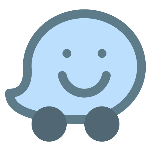 Logo, Social, Social Media, Waze Icon