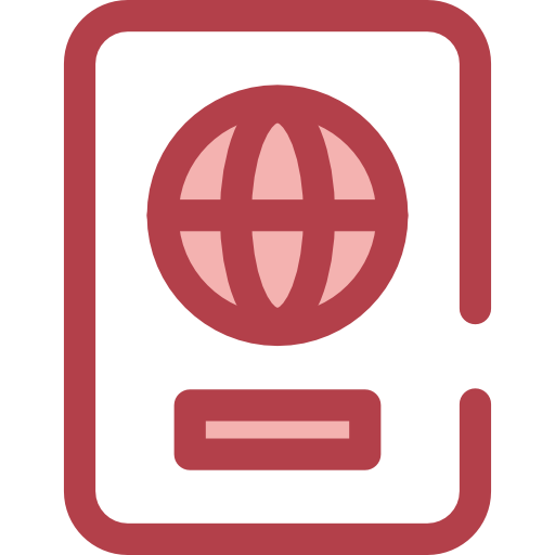 Passport, Black Icon