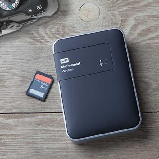 Wd My Passport Wireless Prova Del Disco Fisso Tascabile Tuttofare