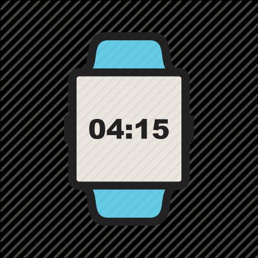 App, Digital, Iwatch, Screen, Smart, Watch, Wearable Icon