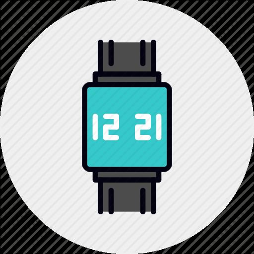 Clock, Device, Smart, Smartwatch, Watch, Wearable Icon