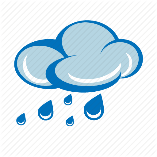 Raining Weather Icon Transparent Png Clipart Free Download