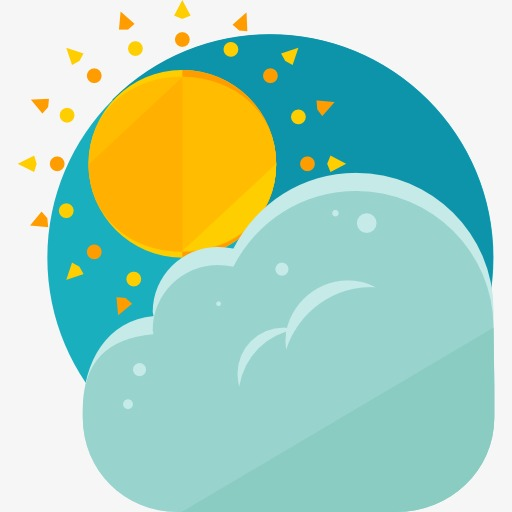 A Weather Icon, Weather Clipart, The Weather, Sun Png Image