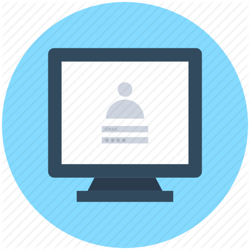 Computer Login, Login Screen, Signup Screen, Web App, Web Ui Icon