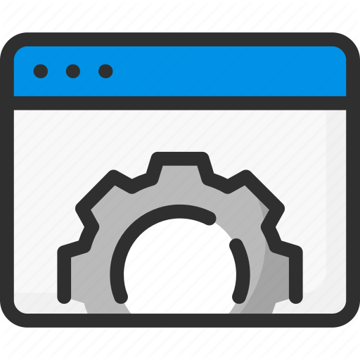 Browser, Cogwheel, Options, Page, Settings, Web, Website Icon