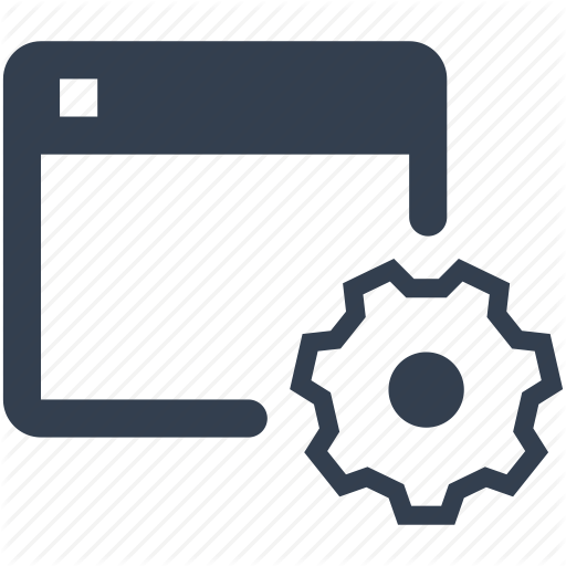 Browser, Gear, Internet, Page, Settings, Web, Window Icon