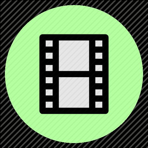Circle, Clip, Movie, Round, User Interface, Video, Web Icon