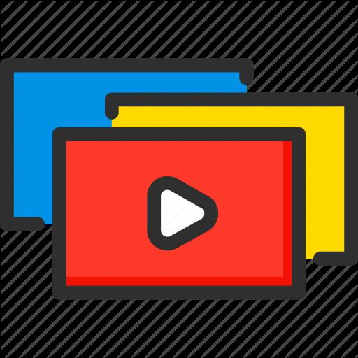 Clip, Movie, Page, Ui, Video, Web, Website Icon