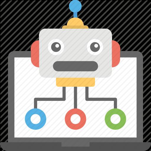Internet Bot, Robot Database, Web Crawler, Web Robot, Robot Icon