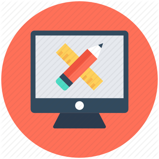 Computer Graphics, Paintbrush With Pencil, Web Design, Web