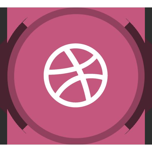 Design, Dribbble, Social, Web Design Icon