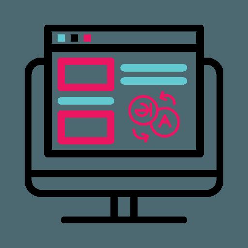 Domain Language Icon