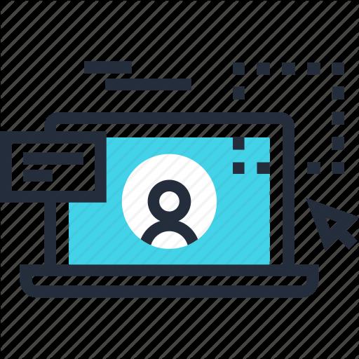 Design, Development, Laptop, Ui, User, Ux, Web Icon