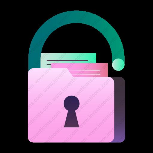 Download Data,privacy Icon Inventicons