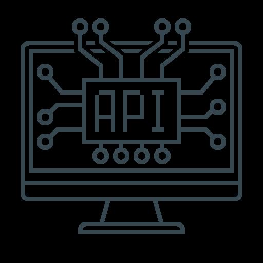 Development, Screen, Developer, Api, Coding, Man, Programming Icon