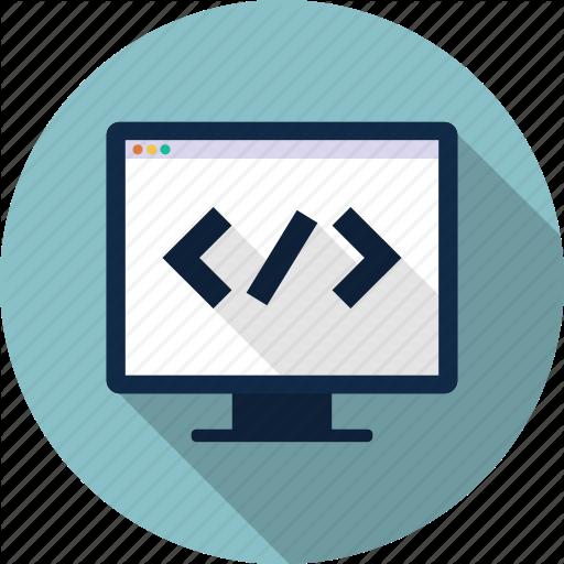Code, Coder, Css, Editor, Html, Web Icon