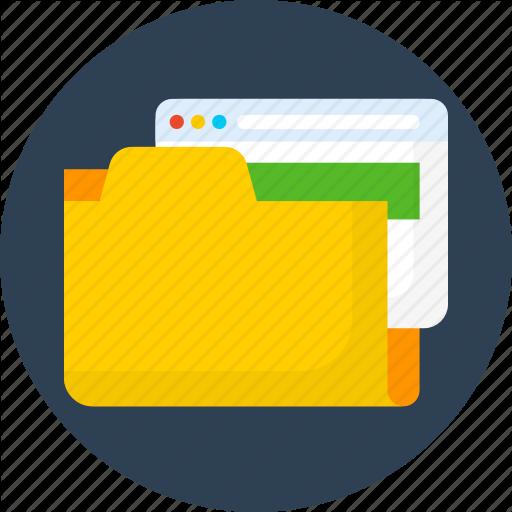 Folder, Save, Seo, Web Icon