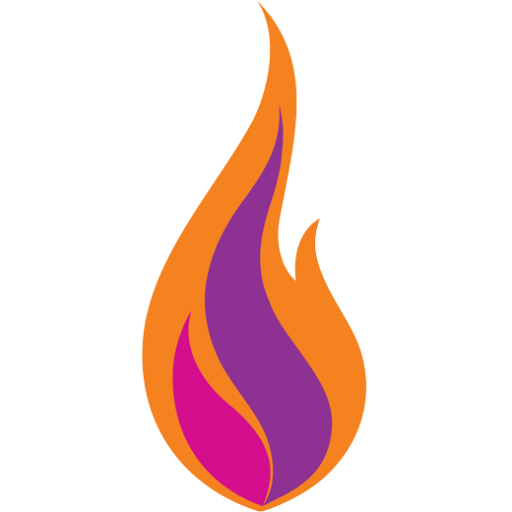 Cropped Spark Web Icon Flame