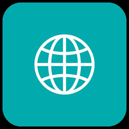 Web Icon, Internet, Browser, Glob Icon
