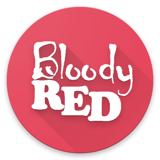 Android Bloody Red Icon Pack Works With All Third Party