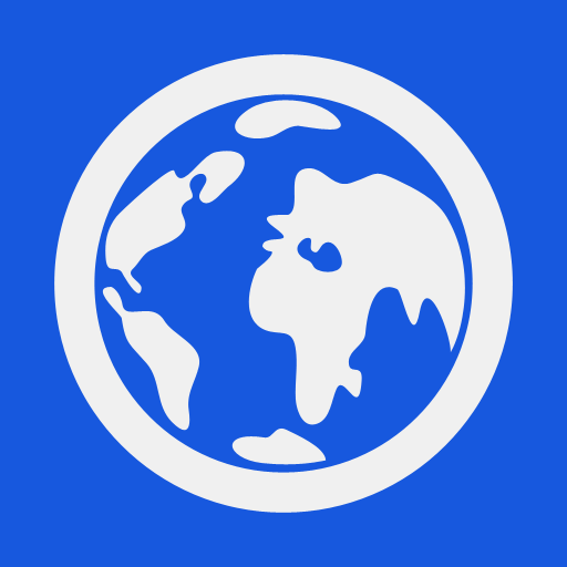 Blue Earth Icon Download Free Icons