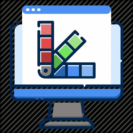 Color, Design, Development, Pc, Sceme, Web, Website Icon