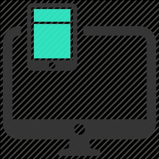 Design, Development, Layout, Responsive, Website Icon