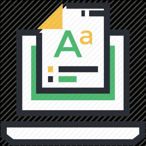 Font Document, Text Document, Web Graphics, Webpage Font, Website