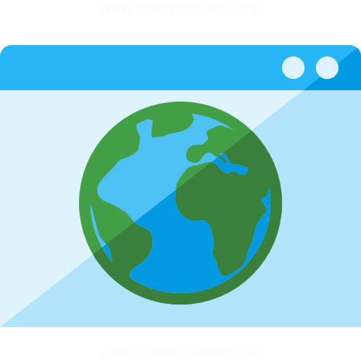 Iconexperience G Collection Window Earth Icon