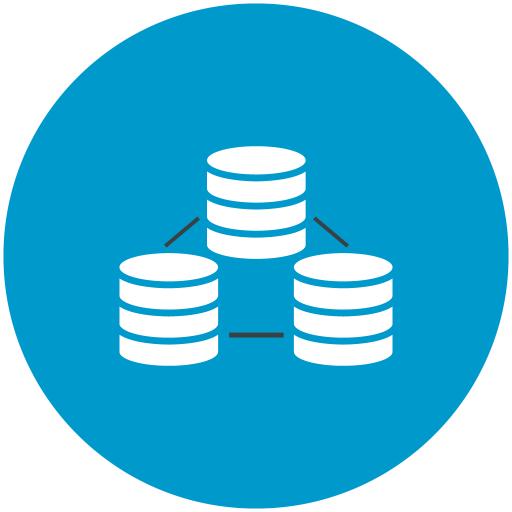 Data, Connection, Databases Icon Free Of Web Hosting Technical